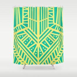 Lemon Mint Shower Curtain