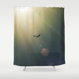 Beyond Tomorrow Shower Curtain