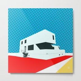 Bauhaus Meisterhaus Pop 3 Metal Print