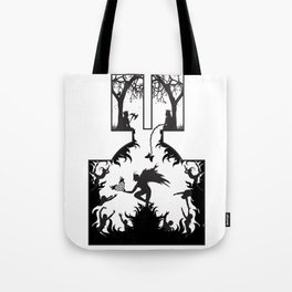 Star Crossed Inferno Tote Bag