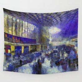 Kings Cross Station Van Gogh Wall Tapestry