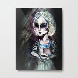 Little Miss Muffet Metal Print