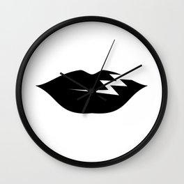 UW/ICO Dark & Long Wall Clock