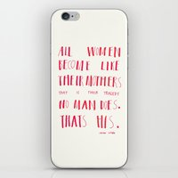 oscar wilde iPhone & iPod Skins featuring Oscar Wilde by youngandretired