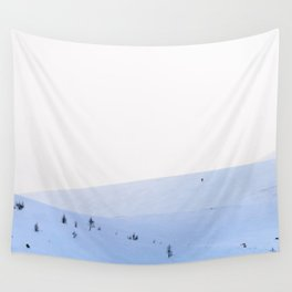 Lonely Wanderer Wall Tapestry