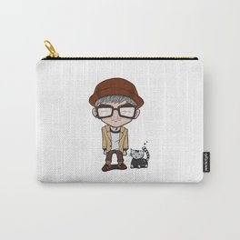 Cat and a Hat Carry-All Pouch