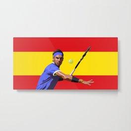 Rafael Nadal | Tennis Metal Print