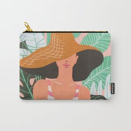 Summer Beach Tropical Vacation Holidays Carry-All Pouch