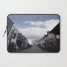 Streets of Glasgow Laptop Sleeve