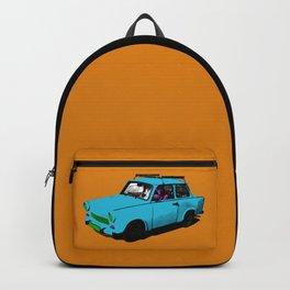 Trabant blue pop Backpack