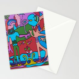 World Dance - We are all One World Stationery Cards