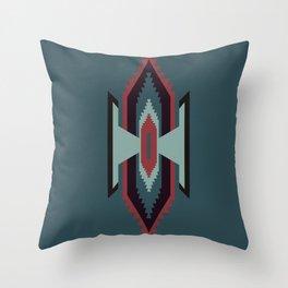 Southwestern Santa Fe Tribal Pattern Throw Pillow