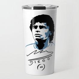 Diego Maradona Travel Mug