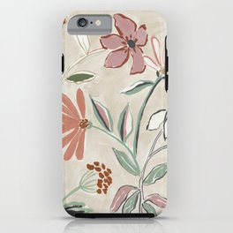 Monday Floral iPhone Case