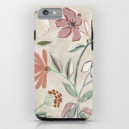 Monday Floral iPhone Case