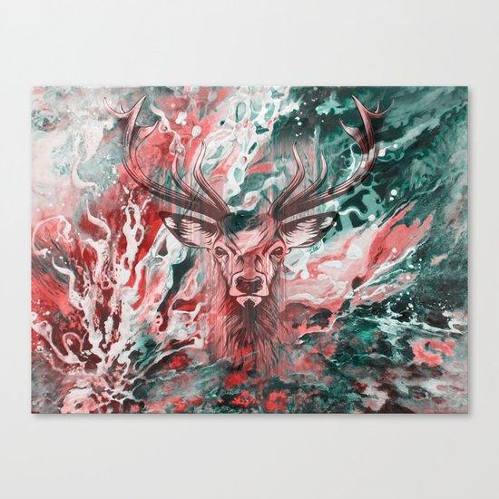 Deer's Scream Canvas Print