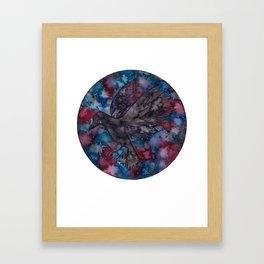 Corvus Constellation  Framed Art Print
