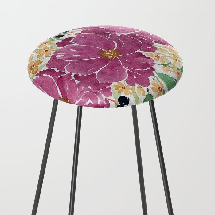 Quot Japanese Maple Amp Blueberry Quot Loose Floral Bouquet