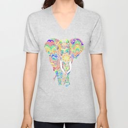 Not a circus elephant Unisex V-Neck