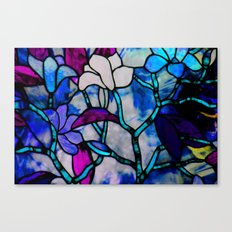 Painted Glass Canvas Print