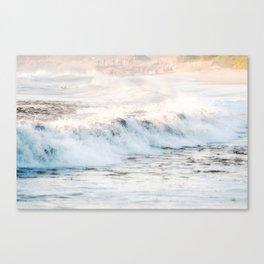 Pacific Ocean Waves Canvas Print