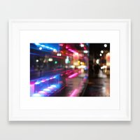 montreal Framed Art Prints featuring MONTREAL by Véronique Leduc