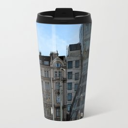 The Dancing House in Prague by Frank Grehry Travel Mug