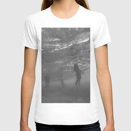 Lifeless Bodies Drown (Black and White) T-shirt