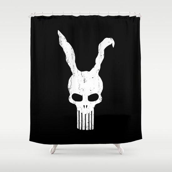 The Bunnisher Shower Curtain