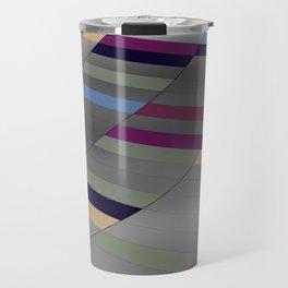Pattern 2016 029 purple  Travel Mug