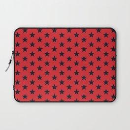 Superstars Black on Red Medium Laptop Sleeve