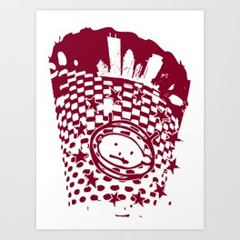 MPLS Zooropa Art Print