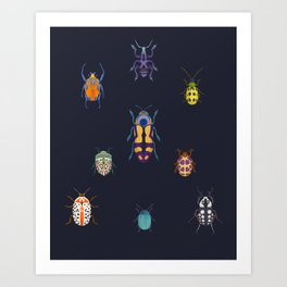 Beautiful bugs Art Print