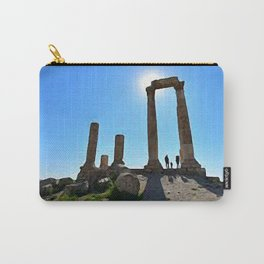 painting of Amman Jordan  Carry-All Pouch