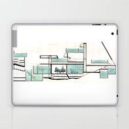 octopus architecture Laptop & iPad Skin