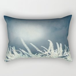 Silver Moon Rectangular Pillow