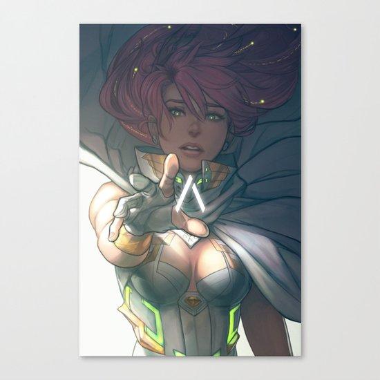 Infinity Mei Canvas Print