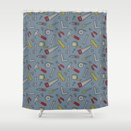 Totally Tools Shower Curtain
