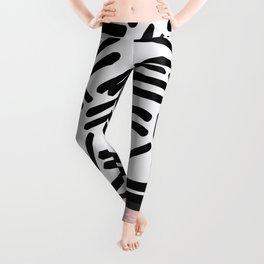 Patterned & Pink Leggings
