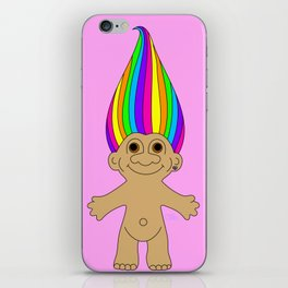 Rainbow Troll iPhone Skin