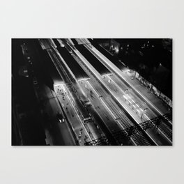 View on South Yarra station, Melbourne Canvas Print