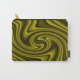 Cosmic Gold Twirls Carry-All Pouch