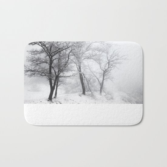 """""""Into the woods"""". Mistery forest. Bath Mat"""