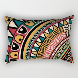 Tribal ethnic background Rectangular Pillow