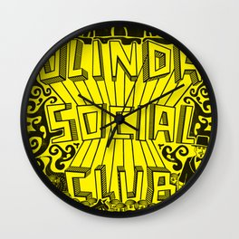 Olinda Social Club Wall Clock