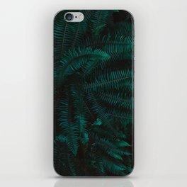 Blue Fern Twilight iPhone Skin