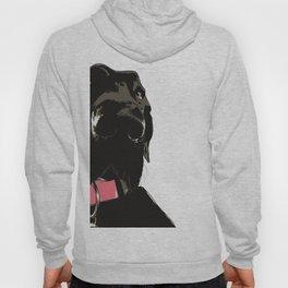 Black Great Dane Dog Hoody