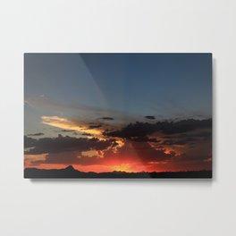 Amazing Arizona Sunsets V Metal Print