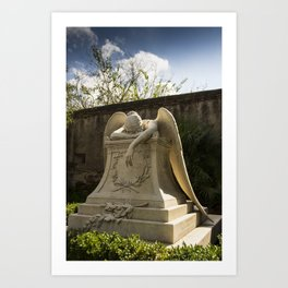 The Angel of Grief Art Print
