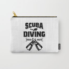 Funny Scuba Diving For Divers Carry-All Pouch